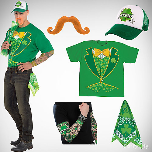 St. Patricks Pub Crawl Outfit Idea