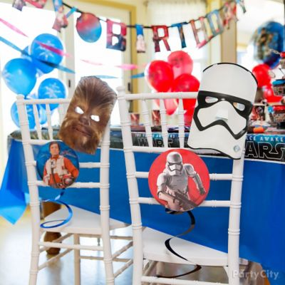 Star Wars Chair Decorating DIY