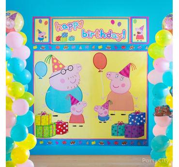Peppa Pig Scene Setter Idea