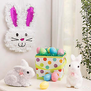 Easter Bunnies and Eggs Decorating Idea
