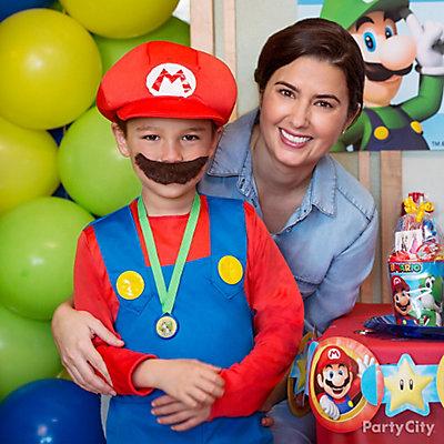 Super Mario Birthday Costume Idea