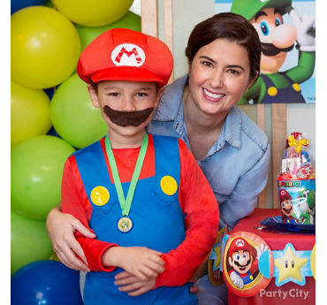 Super Mario Birthday Costume Idea