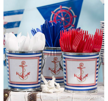 Nautical Utensil Display Idea