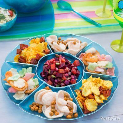 Pupu Snack Platter Idea
