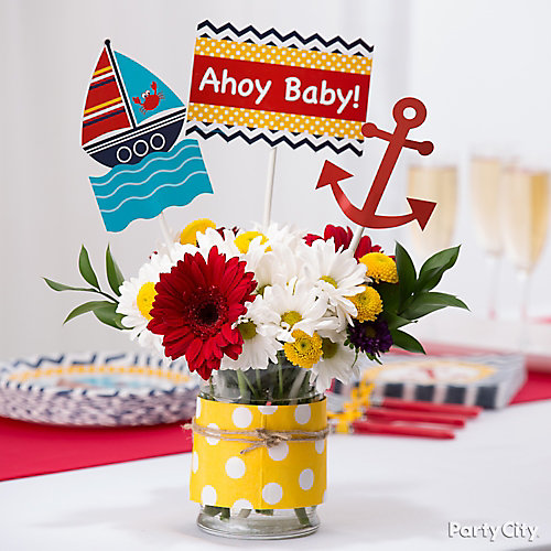Ahoy Centerpiece Idea