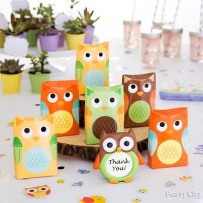 Owl Favor Display Idea