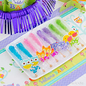 Rock Candy Favor Idea