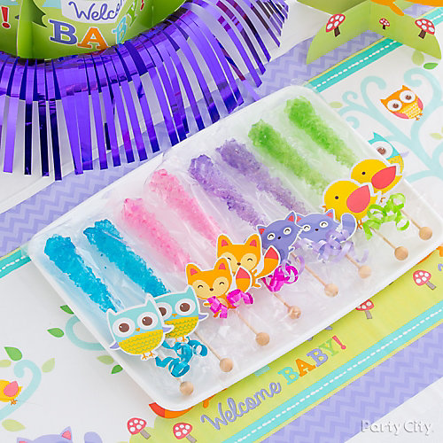 Baby Shower Ideas Party City: Woodland Baby Shower Ideas