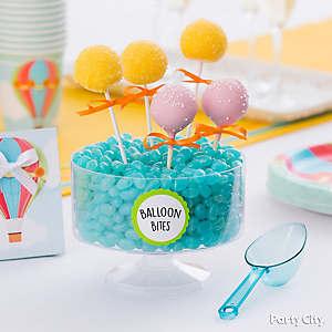 Hot Air Balloon Cake Pops Idea