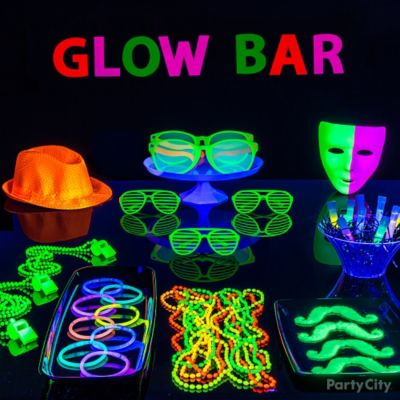 Glow In The Dark Bubbly Drink Idea Black Light Party