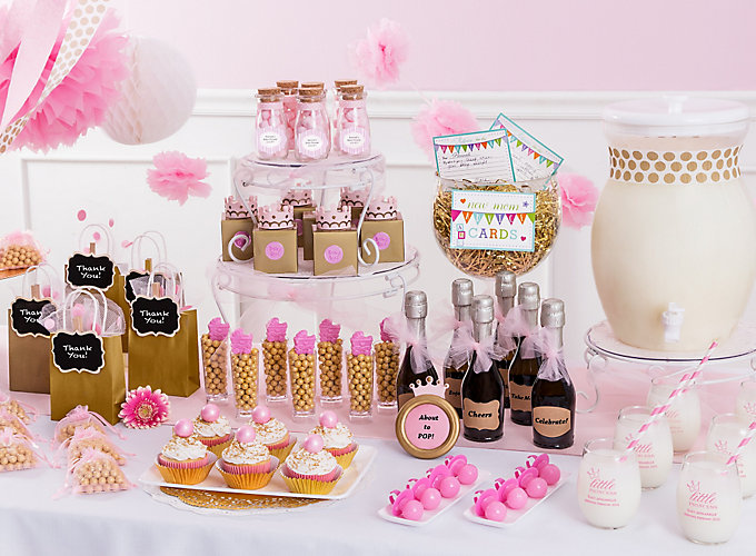 Little princess baby shower party city little princess baby shower ideas negle