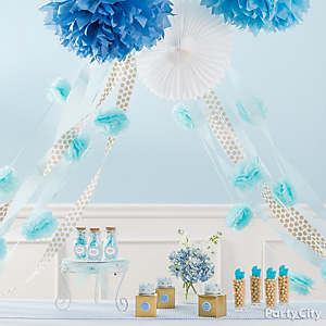 prince baby shower decoration idea