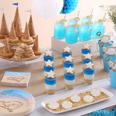 Beach Love Bridal Shower Ideas