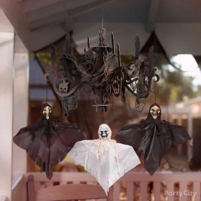 Creepy Chandelier Idea
