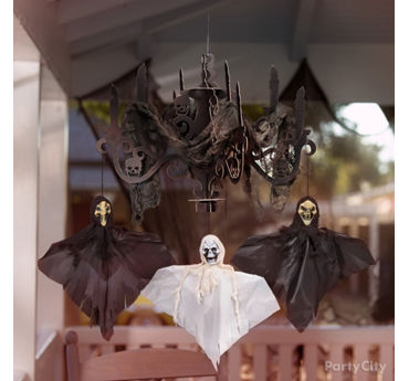 Creepy Chandelier Idea