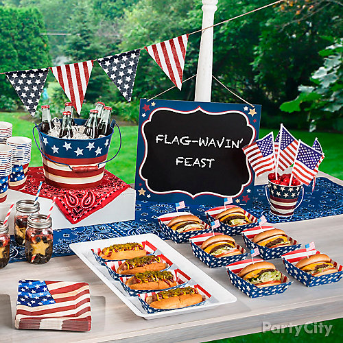 Hotdogs and Hamburgers Idea