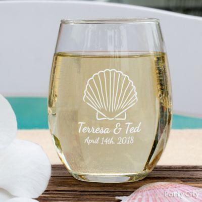 Custom Wine Glasses Idea