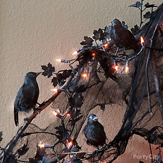 Crows and Branches Decorating Idea