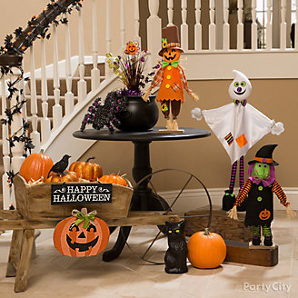 Friendly Halloween Entry Idea