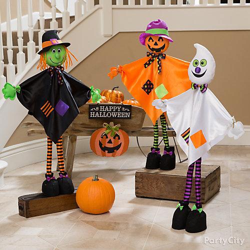 Giggling Halloween Friends Idea