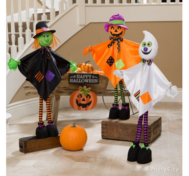 Giggling Halloween Friends Idea