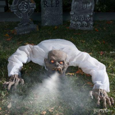 Fog Breathing Zombie Idea