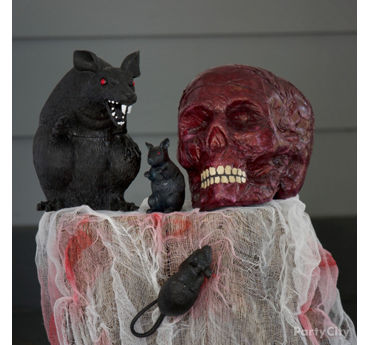 Rats and Skull Vignette Idea