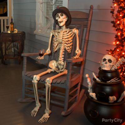 Seated Skeleton Chap Idea