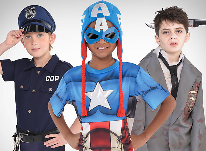 Top Boys' Halloween Costume Looks