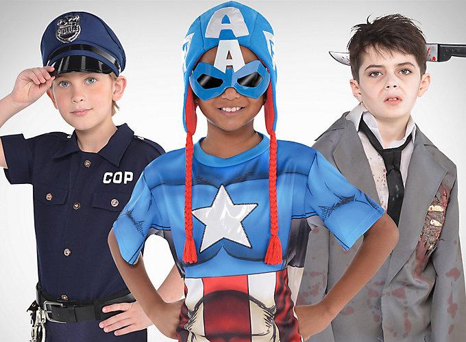Top Boys' Halloween Costume Looks