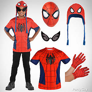 Boys Spider-Man Costume Idea