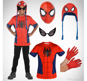Boys Spider Man Costume Idea
