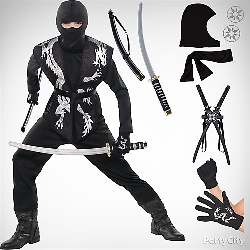 Boys Ninja Costume Idea
