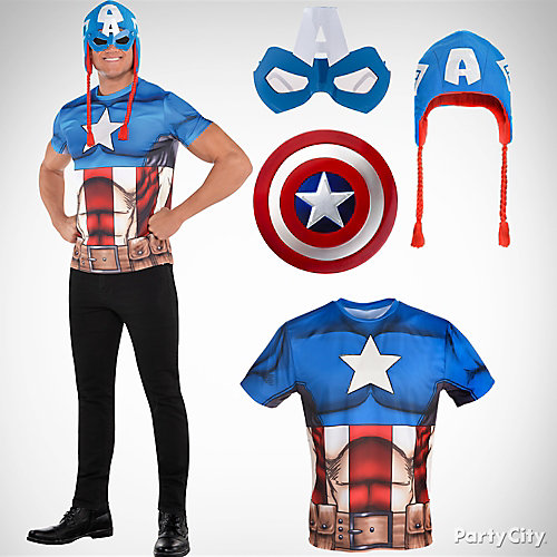 Mens Captain America Costume Idea