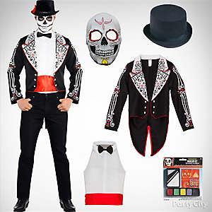 Mens Day of the Dead Costume Idea
