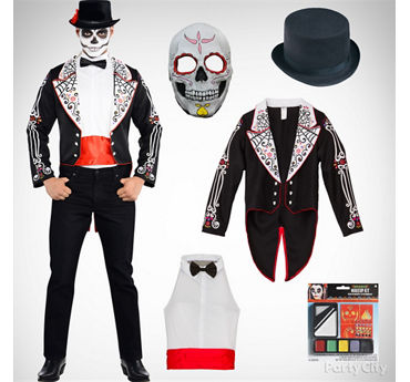 Mens Day of the Dead Costume Idea