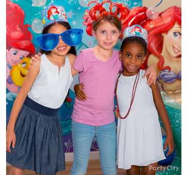 Little Mermaid Photo Booth Activity Idea