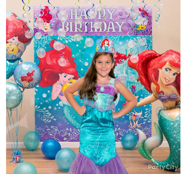 Little Mermaid Birthday Costume Idea