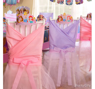 Disney Princess Chair Decorating DIY