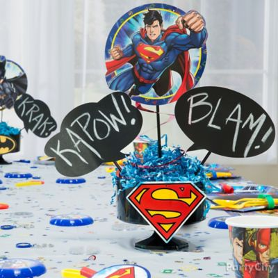 Justice League Party Ideas