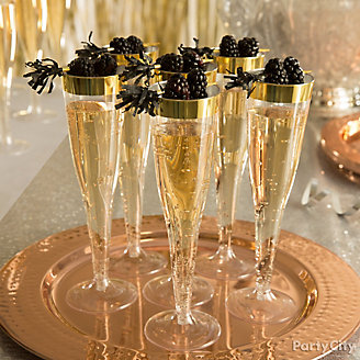 Black Tie Champagne Idea