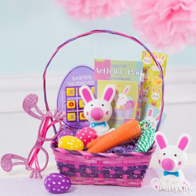 Girls Favors Easter Basket Idea