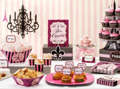 A Day in Paris Party Ideas