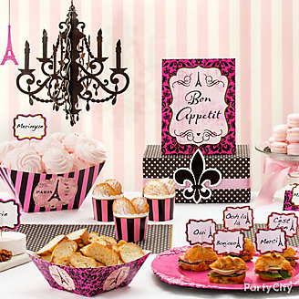Day in Paris Party Ideas
