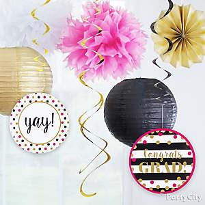 Confetti Theme Hanging Decor Idea