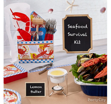 Seafood Survival Kit Idea