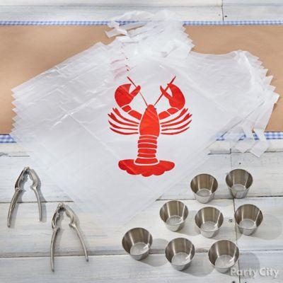 Seafood Fest Bibs Idea