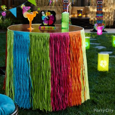 Glowing Table and Lanterns Idea