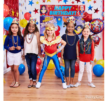 DC Super Hero Girls Party Ideas