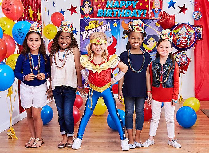 DC Super Hero Girls Party Ideas